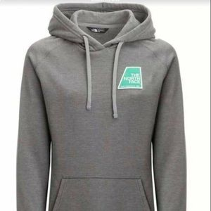 The North Face Gray Patches Hoodie XL